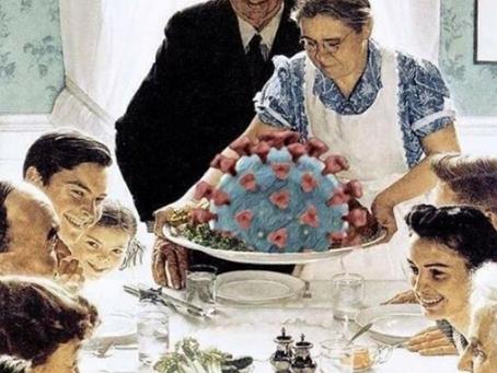 Cuidado con las reuniones de Acción de Gracias y Navidad