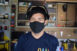 Aluno do CAAI no MakerSpace UNIFEI
