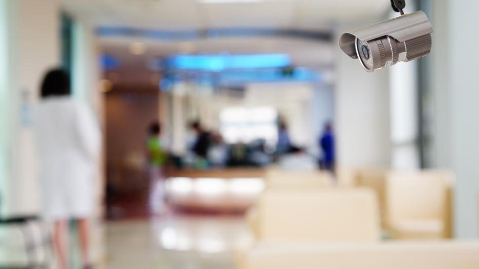 Videoüberwachung Krankenhaus