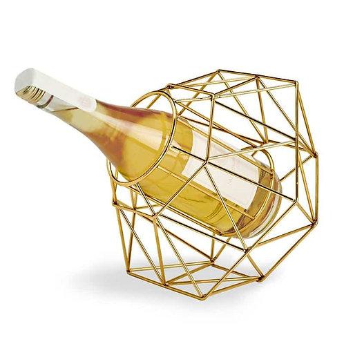 Diamond Gold Wine Bottle Holder