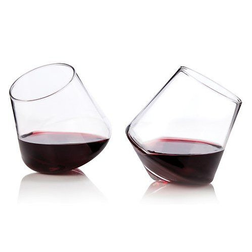 Raye: Rolling Wine Glasses