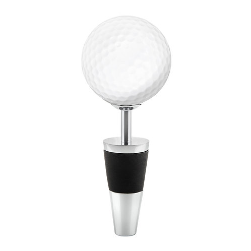 Topspin Golf Ball Bottle Stopper by True