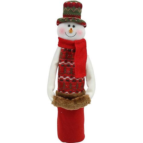 Frosty Winter Wonderland Wine Sock