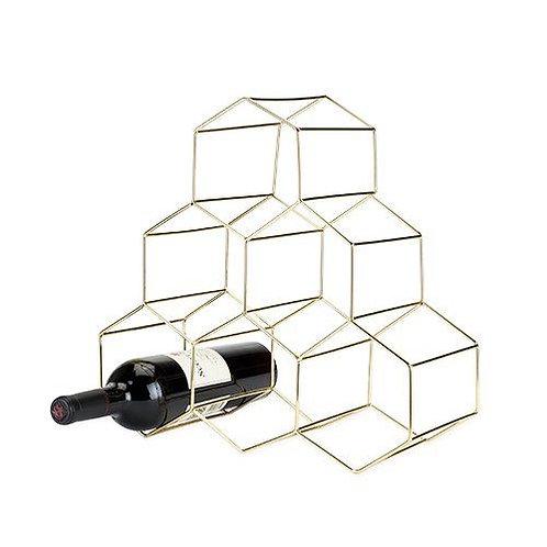 Belmont: Geo Wine Rack (Viski)