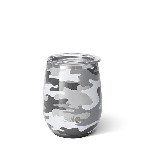 Swig 14oz Stemless Wine Cup - Incognito Camo