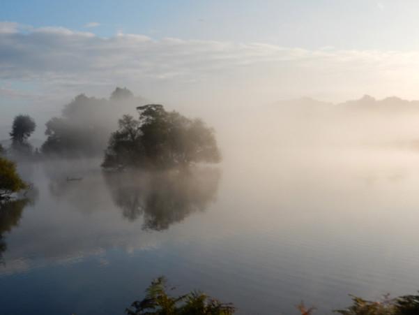 Richmond at dawn