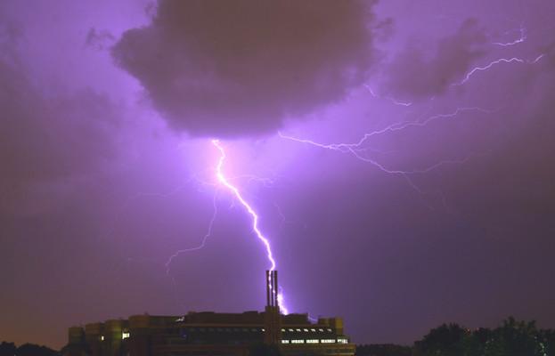 Lightning over Chelsea