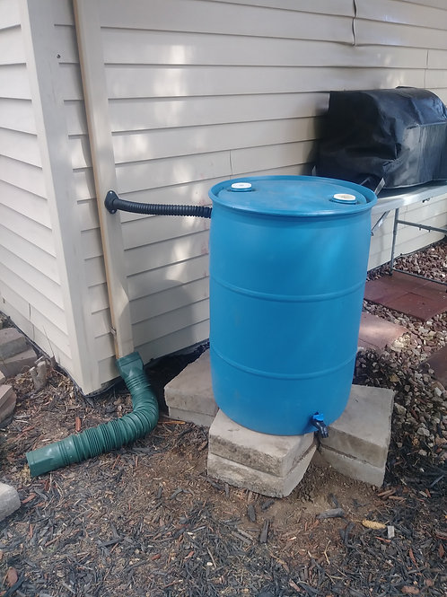 How to Install Your Rain Barrel with a Diverter