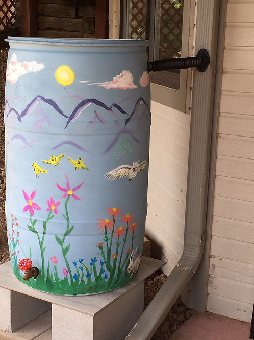 Type of Rain Barrel System to Install in Cold Climates