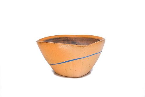 Orange Altered Square Bowl #3