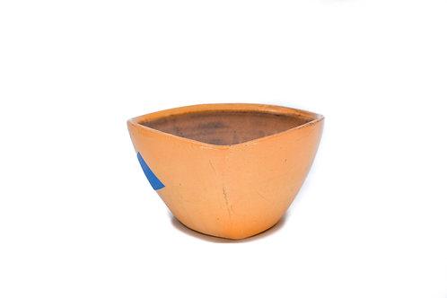 Orange Triangle Bowl #4