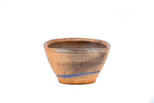 Orange Altered Square Bowl #5