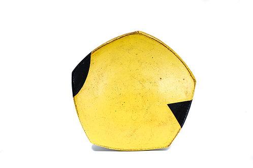 Yellow Dinner Plate #10