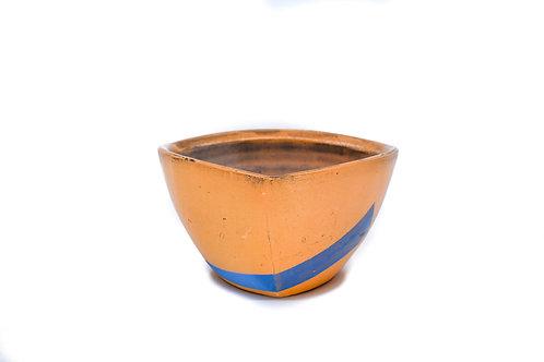 Orange Triangle Bowl #3
