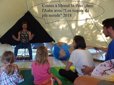 """Pascal Michaud conteur, mesnil St-pére,""""les toqués"""" du piti monde"""" https://www.rheocreation.com/"""