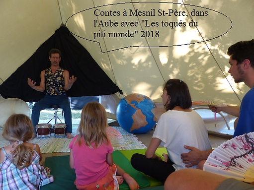 Pascal Michaud conteur, Mesnil St-Père rhéocréation.com