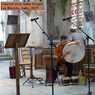 Pascal Michaud percussions, gospel
