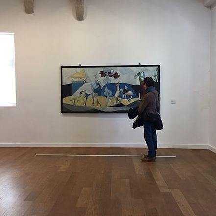Musée Picasso Antibes, Pascal Michaud