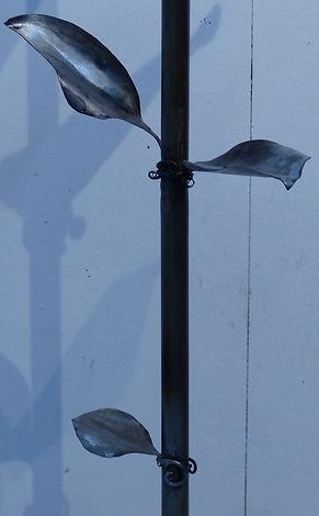 Le luminaire, lampe fleur, fer forgé, rhéocréation.com