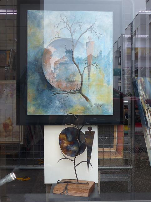 Artiste, Cathy Angelli, fer forgé, Pascal Michaud,https://www.rheocreation.com/