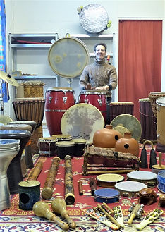 Pascal Michaud, atelier cours percussions, réparations, https://www.rheocreation.com/