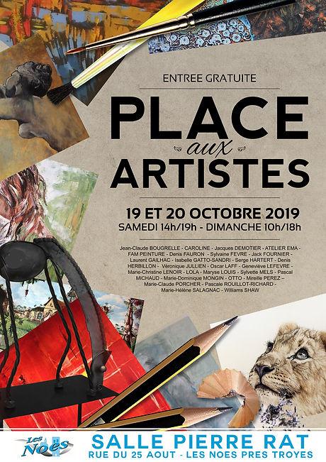 Place Aux Artistes, marché de création, 2019, Pascal Michaud