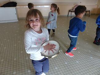 St Lyé mars 2021, percussion, CLSH, animation enfants, rhéocréation.com