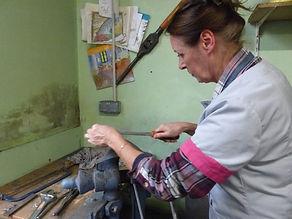 Christiane en plein travail, rhéocréation.com341.JPG