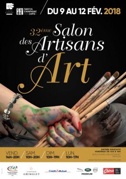 32 ème,Salons des artisans d'art le cube Troyes, Pascal Michaud