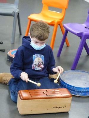 Percussion Lusigny fevrier 202, clsh conte en musique, rhéocréation.com