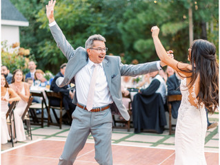 DANCING THE NIGHT AWAY AT A BEAUTIFUL WEDDING IN NC