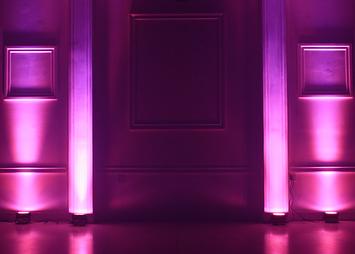 Wedding and corporate lighting - uplights raleigh nc - CWDJ Entertainment