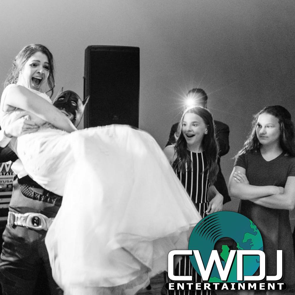 CWDJ ENTERTAINMENT | COVID-19 | BATMAN | SUPER HERO WEDDING | RALEIGH NC