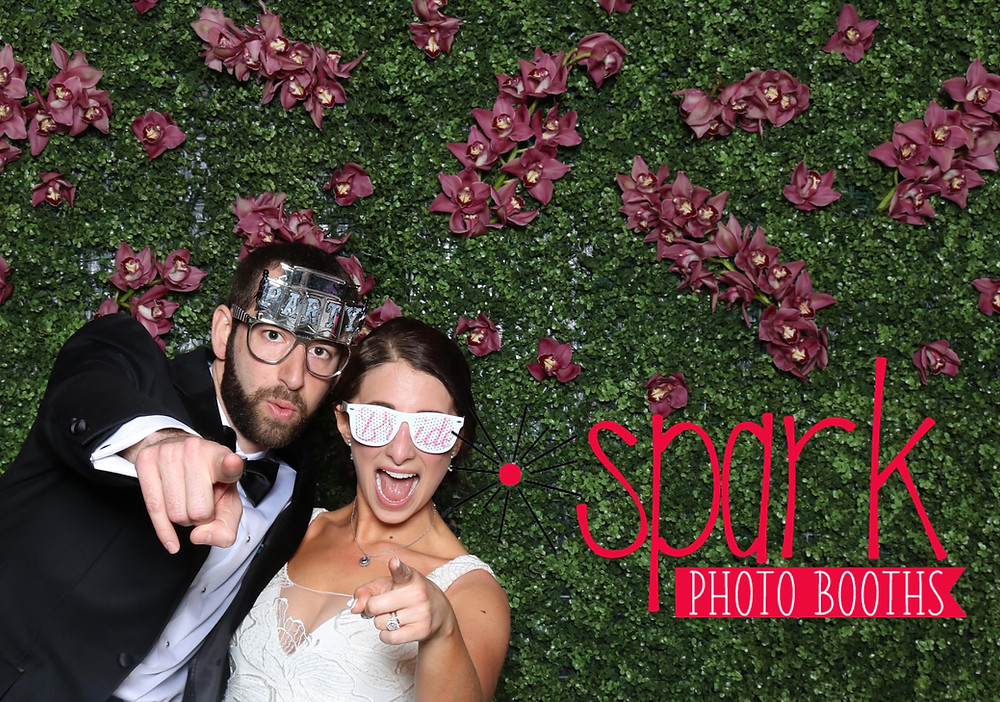 Spark Photo Booth Bride and Groom Wedding Photo Booth Picture