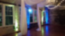 Wedding Lighting | Raleigh, NC | Wedding DJ | UPLIGHTING | CWDJ
