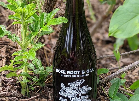 Bottle of Rose Root & Oak