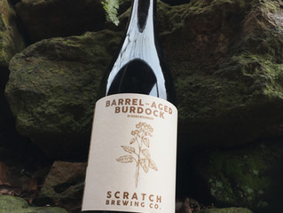 Barrel-Aged Burdock Bottles