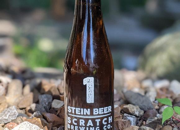 Bottle of #1 Stein Lager