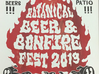 Botanical Beer and Bonfire Fest, February 2nd