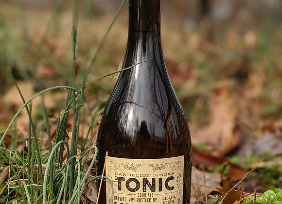 Bottle of Dandelion-Ginger Tonic