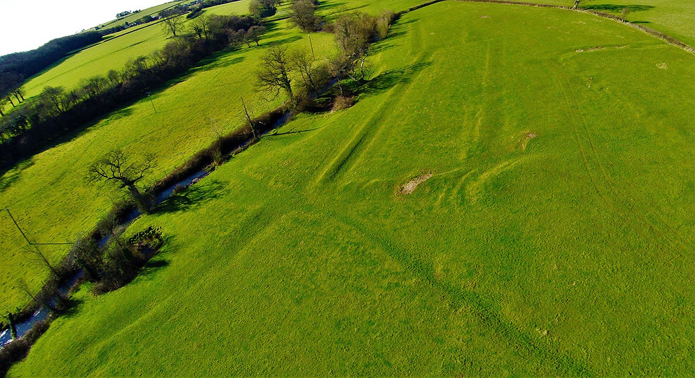 ExCAELO Aerial Imaging - Archaeological Aerial Photography - Beaupre Castle