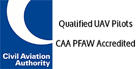 ExCAELO Aerial Imaging CAA UK PfAW Approved Drone Operator