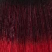 #1B Mix #Red Balayage