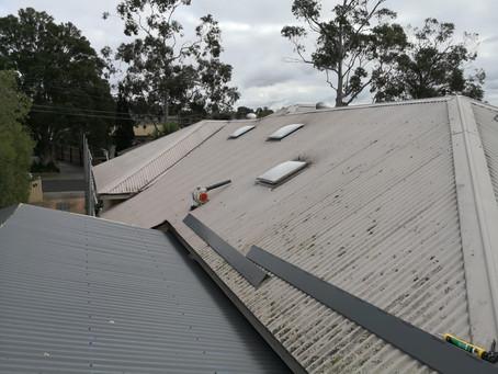 Metal to Metal Re-Roof in Watsonia