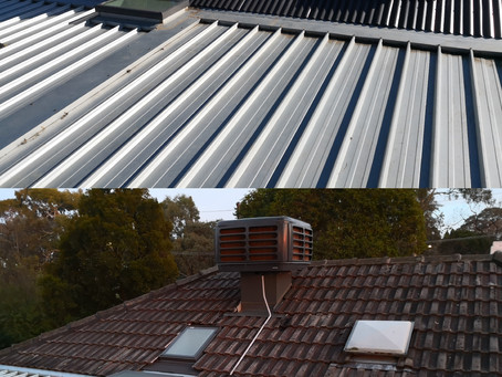Tile roof to Steel roof conversions