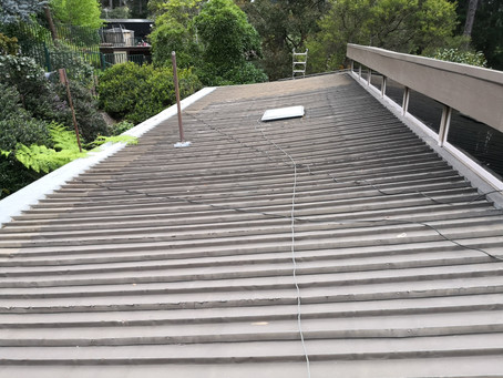 See How We Replaced This Flat Roof in Park Orchards!