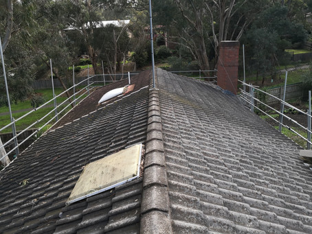 Tiled to Colorbond Roof in Eltham
