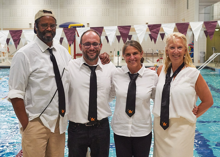 CCHS Swim and Dive Coaching Staff
