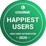 Crozdesk Happiest Users 2020