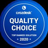 Crozdesk Quality Choice 2020